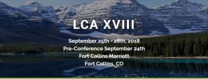 LCA XVIII conference